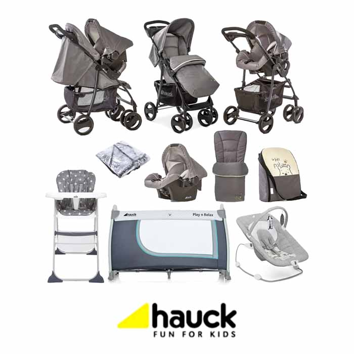Hauck Disney Shopper SLX Shop n Drive Everything You Need Travel System Bundle