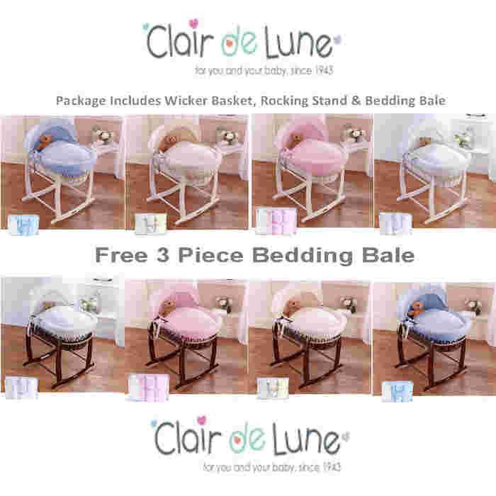 Clair De Lune Wicker Basket_Bale Set