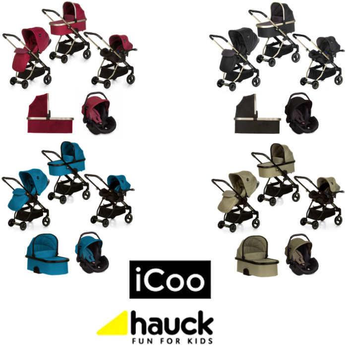 Hauck Icoo Acrobat XL Plus Trio Set Travel System