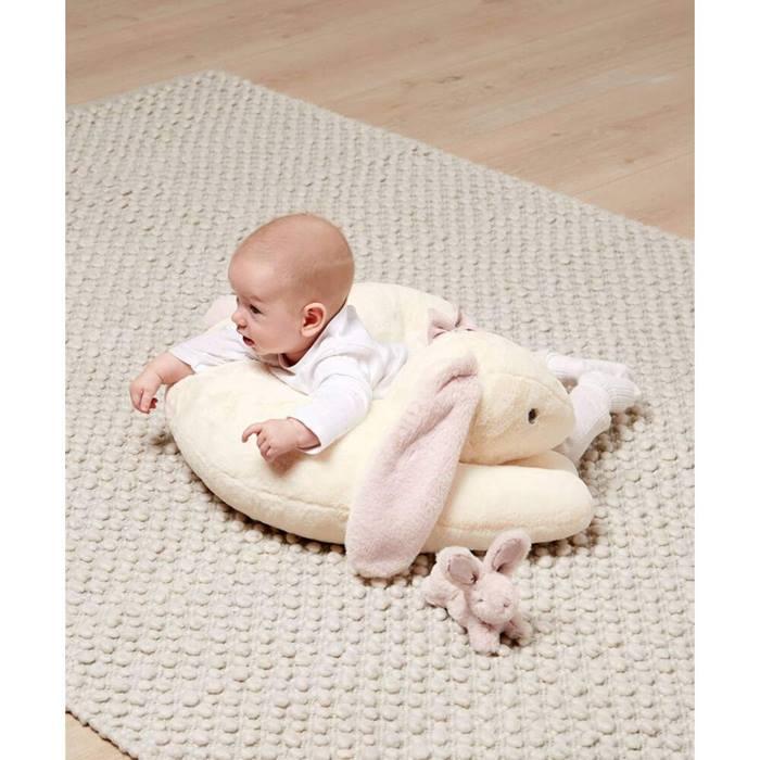 Mamas & Papas Bunny & Baby Tummy Time Snugglerug