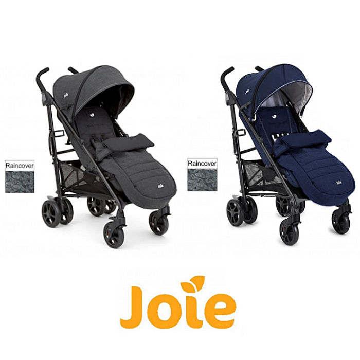 Joie Brisk LX Stroller Pushchair With Footmuff