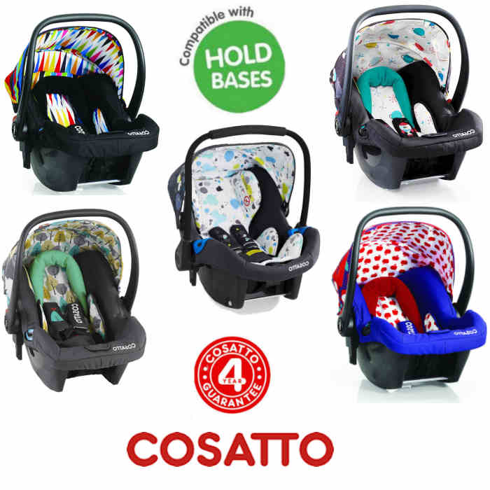 Cosatto Hold / Port Giggle Group 0+ Baby Car Seat