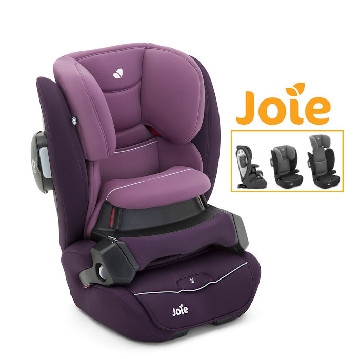Joie Transcend Group 123 Car Seat  Lilac