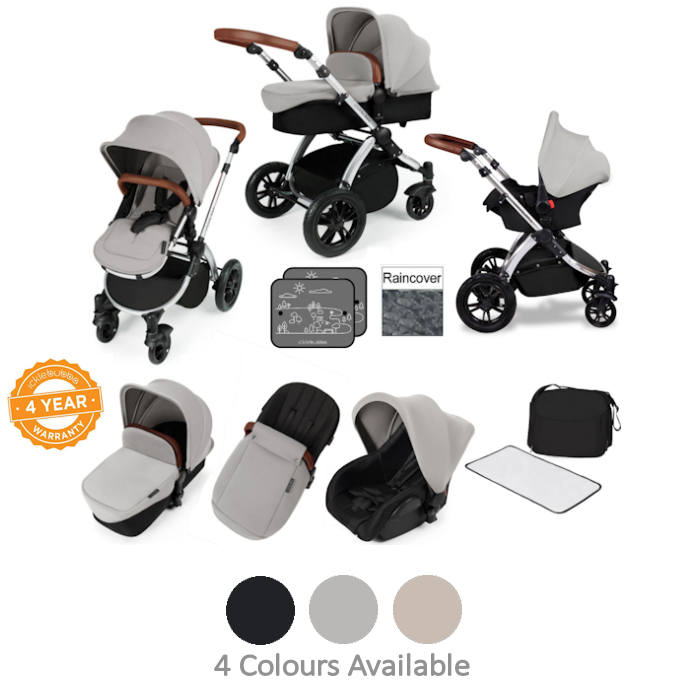 ickle bubba Stomp V2 Black All In One Travel System