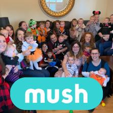 Mush make friends