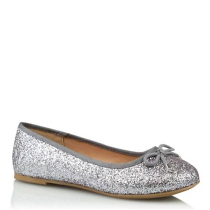 ASDA-Silver-Glitter-Pumps