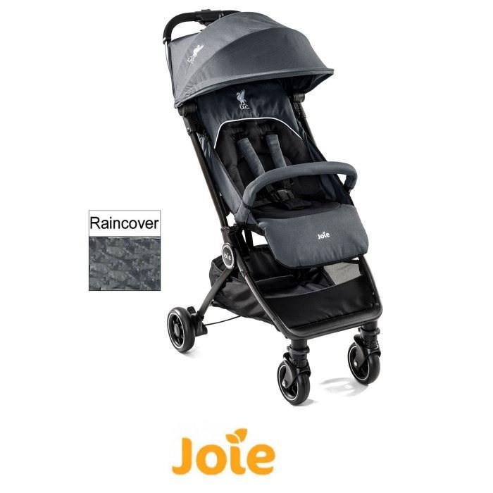 Joie Pact Flex Liverpool Football Club (LFC) 4 Wheel Pushchair Stroller - Black Liverbird