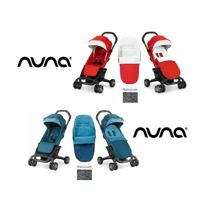 Nuna Pepp Luxx Pushchair With Footmuff