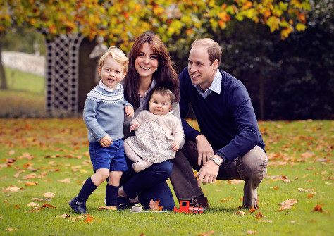 William and Kate George and Charlotte