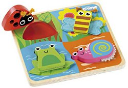 Tidlo Touch and Feel Bugs Puzzle 250