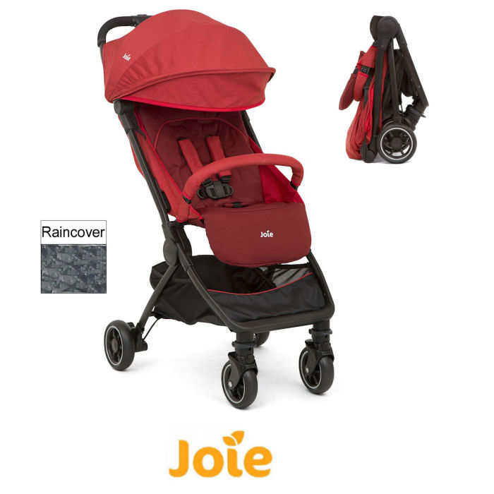 Joie Pact Stroller Pushchair - Cranberry