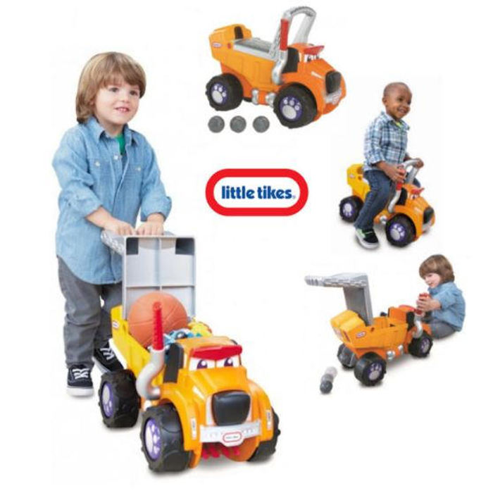 Little Tikes Big Dog Truck 3 in 1 Ride On From 12 Months