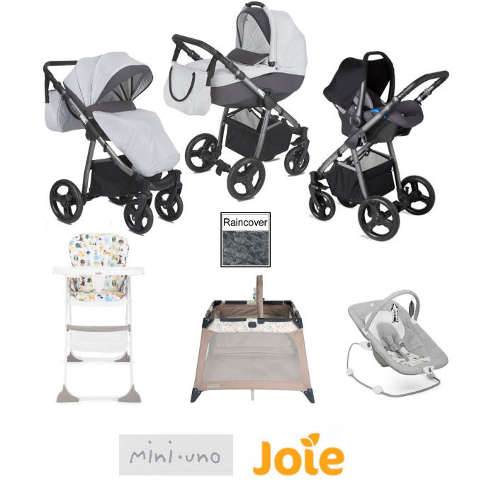 Joie - Mini Uno StrideTravel System Bundle_new