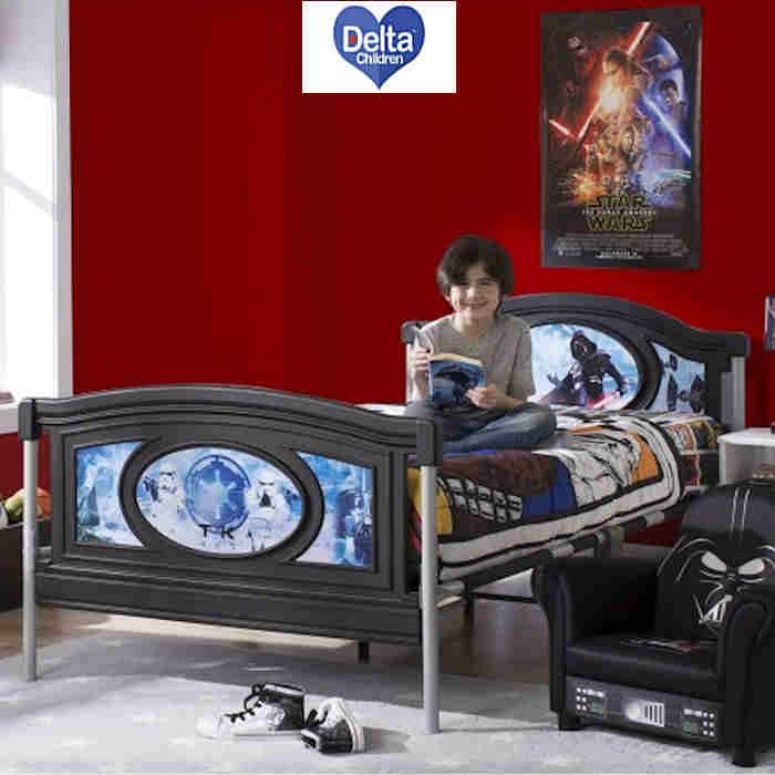Delta Children Twin  Single Bed - Star Wars