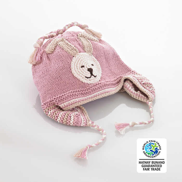 Hat bunnie pink