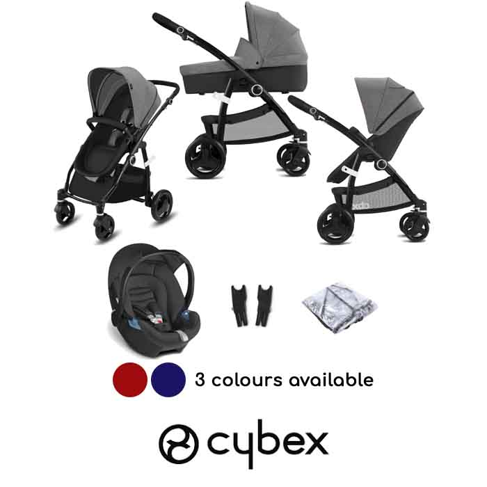Cybex CBX Bimisi Pure Aton Travel System with Carrycot