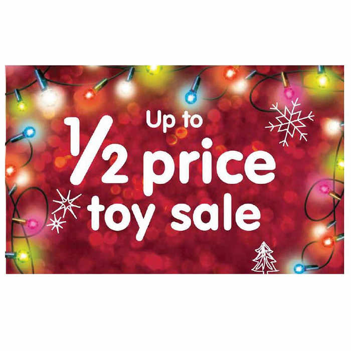 Week 42 half price toy sale