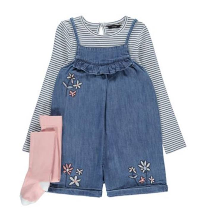 ASDA-Denim-Playsuit-Set