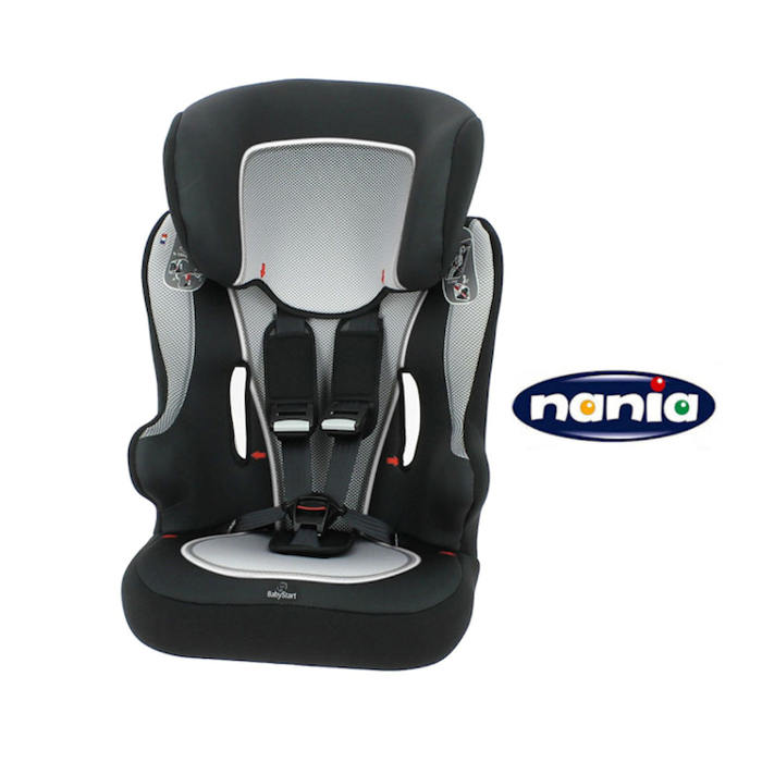Nania Racer SP Group 123 Car Seat  Black  White