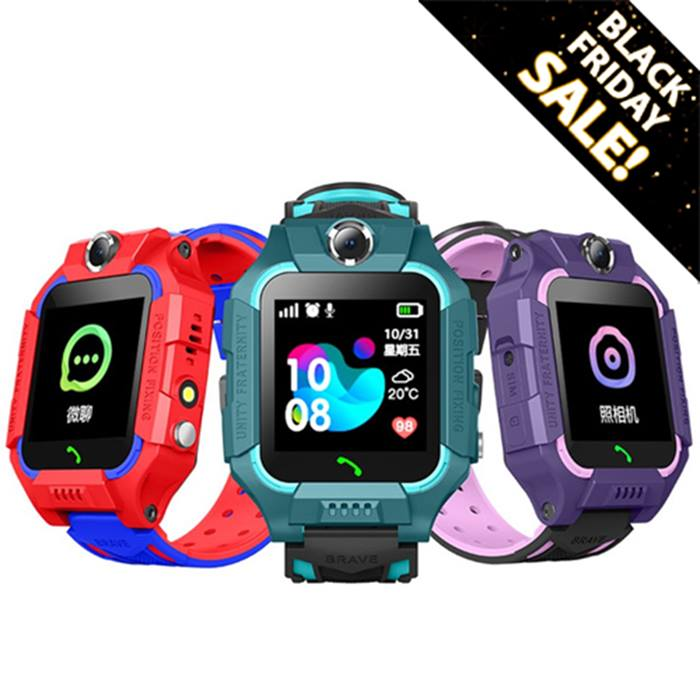 Kids Tracking Dual Camera Smart Watch - 3 Colours