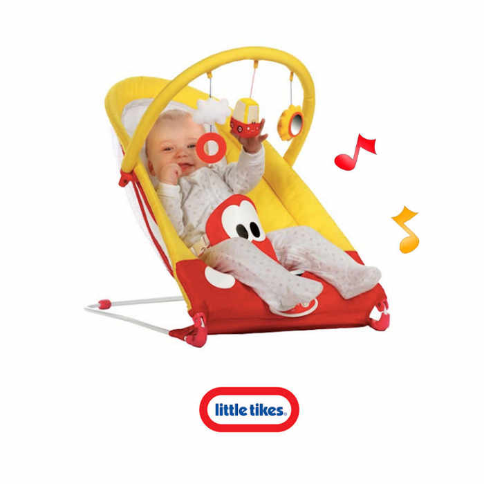 Little Tikes Cozy Coupe Bouncer - Red - Yellow-