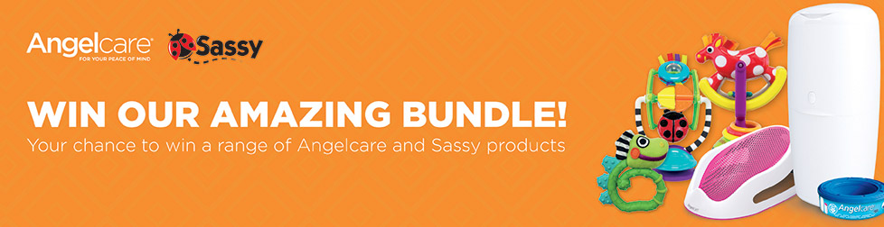 Angelcare - Sassy - Win our amazing bundle! Your chance to win a range of Angelcare and Sassy products