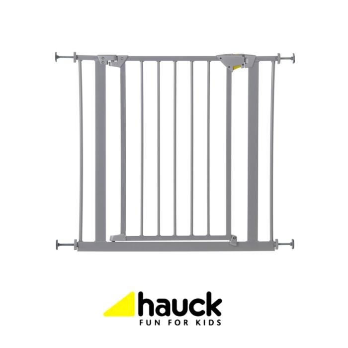 Hauck Trigger Lock Metal Pressure Fix Safety Gate  Metallic 75  81cm