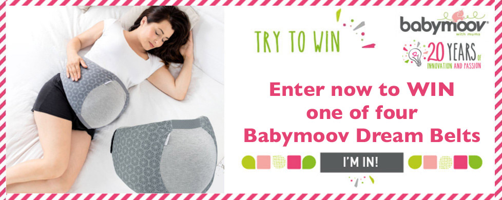 babymoov - Try to Win - Enter now to WIN one of four Babymoov Dream Belts