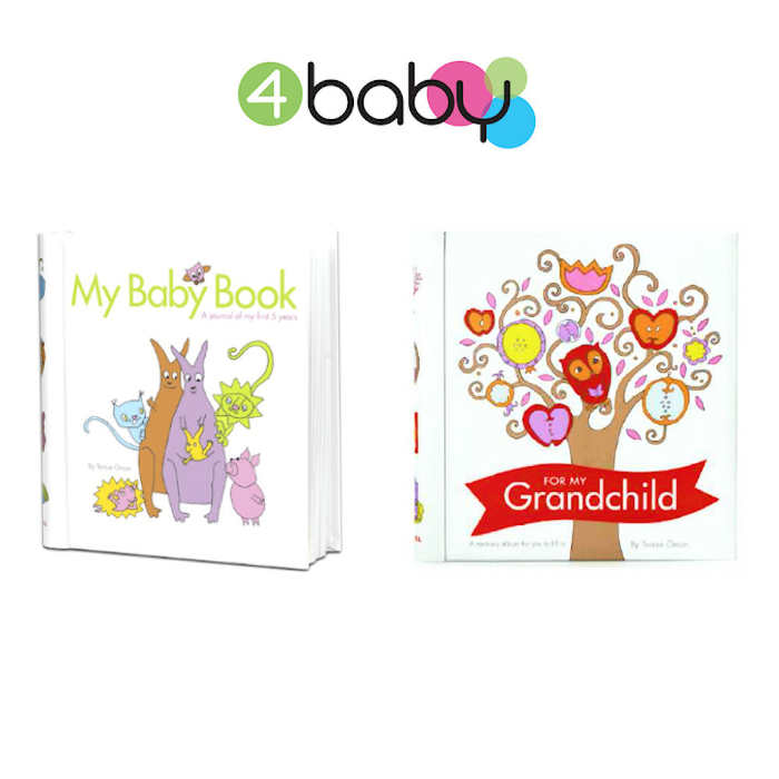 4baby My Baby Book  Baby Memory-Keepsake Book