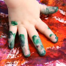 Baby hand art