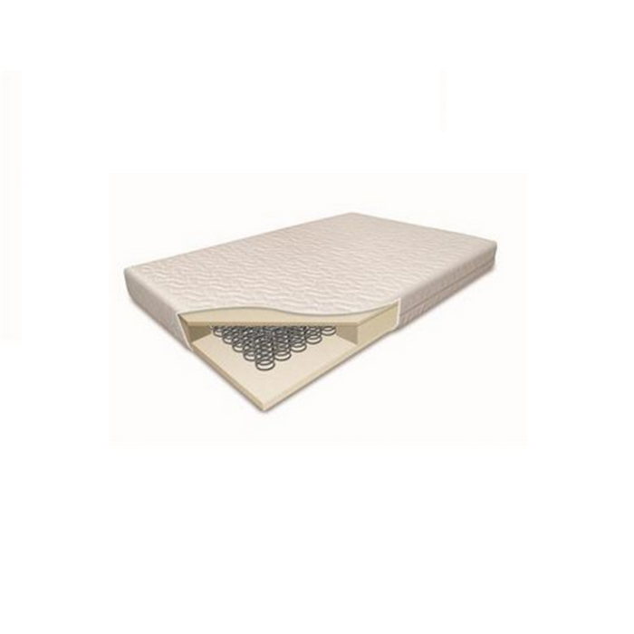 Deluxe 5 inch Sprung Cotbed Mattress (140x170cm)