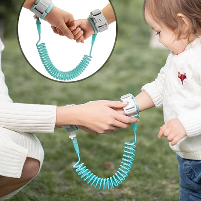 Kid's Anti-Lost Wrist Harness With Safety Lock