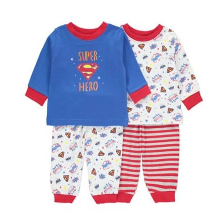 ASDA-Superbaby-pjs