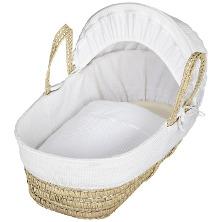 John Lewis waffle Moses basket
