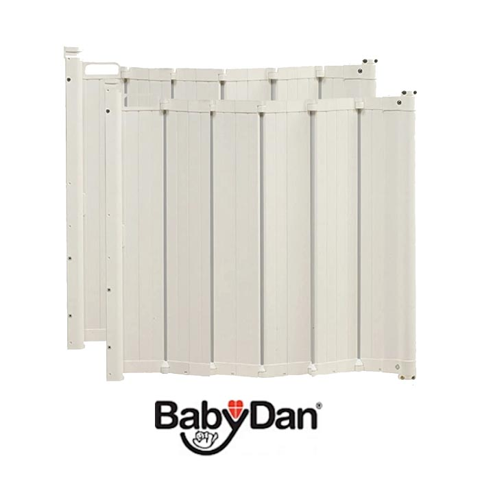 Babydan Guard Me Auto Foldable Safety Guard Safety Gate Pack of 2 645 89cm