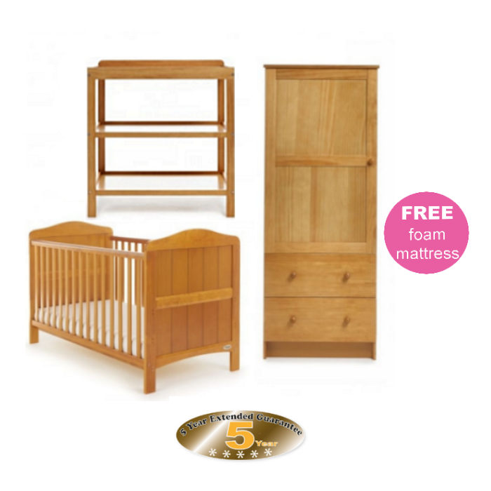 Whitby Room Set Country Pine