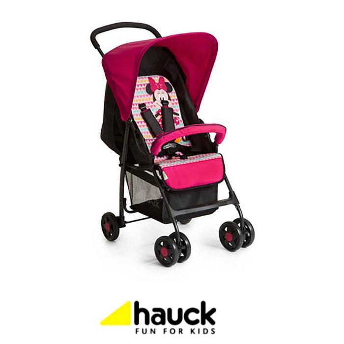 Hauck Disney Sport Pushchair - Minnie Geo Pink