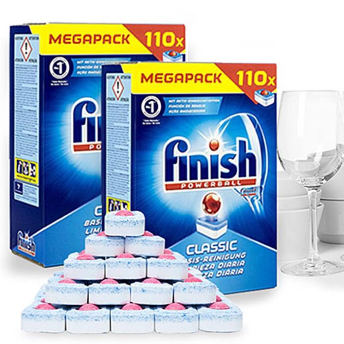 110 Finish Powerball Dishwasher Tablets