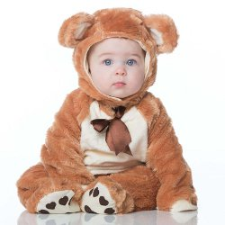 Teddy Bear Baby Fancy Dress Costume