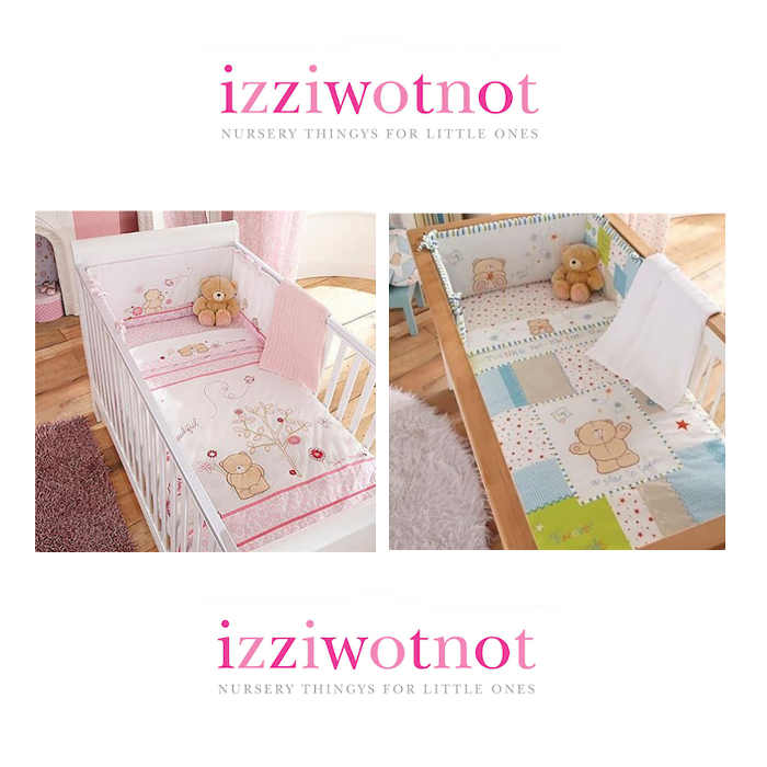 Izziwotnot Forever Friends 5 Piece Cotbed Bedding Bale