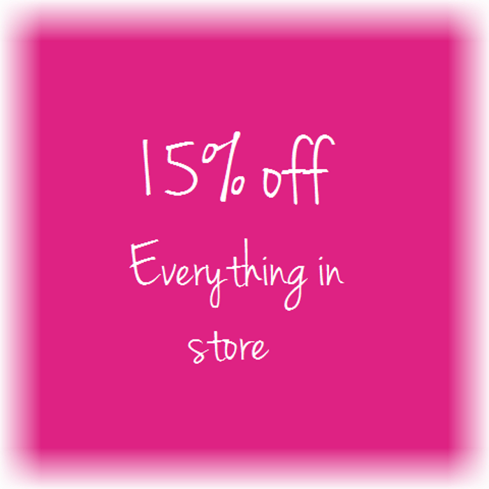 15 off everything