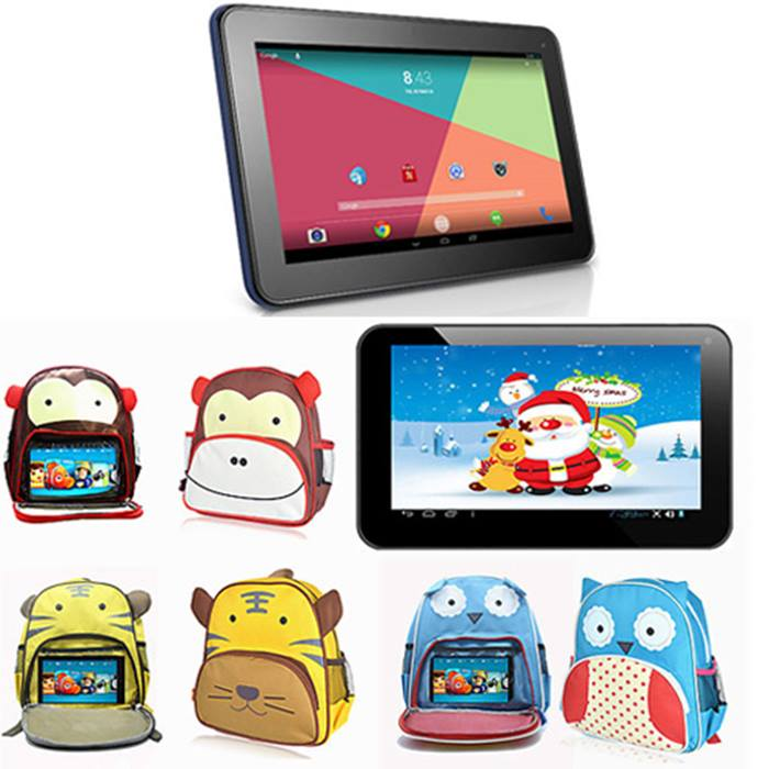 Cartoon Backpack with Tablet