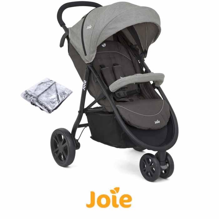 Joie Litetrax 3 Wheel Stroller - Dark Pewter