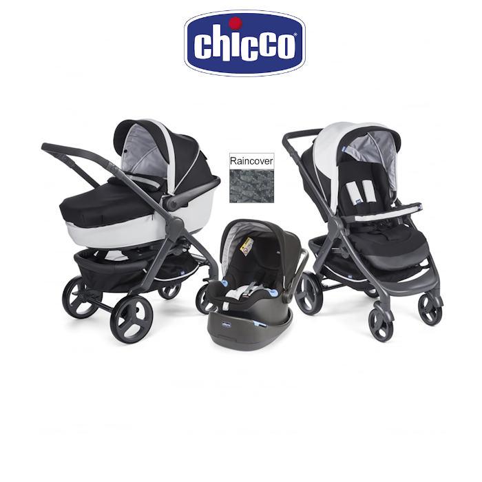 Chicco Trio StyleGo Travel System - Black Night