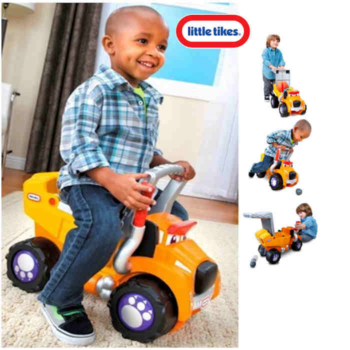 Little Tikes Big Dog Truck 3 in 1 Ride On