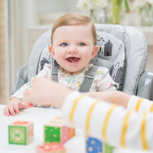 Joie BWL at home highchair 222