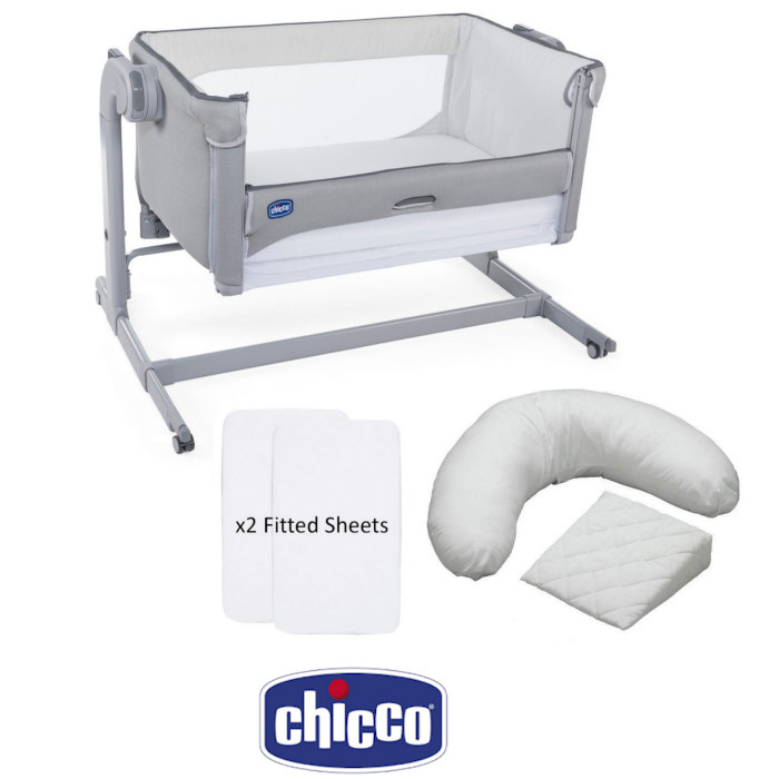 Chicco Next2Me Magic Crib Sheets Pillow Pack Bundle
