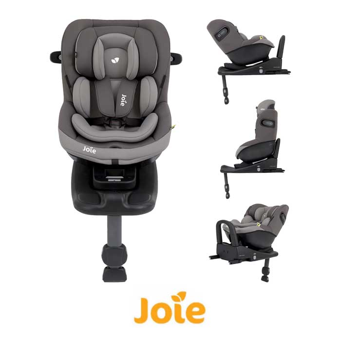 Joie iVenture Group 01 Car Seat And iBase Advance ISOFIX Base Dark Pewter