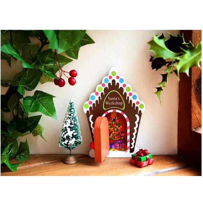 santas work shop fairy door