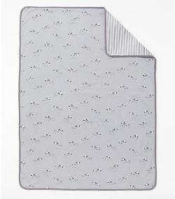 John Lewis baby zebra swaddle blanket